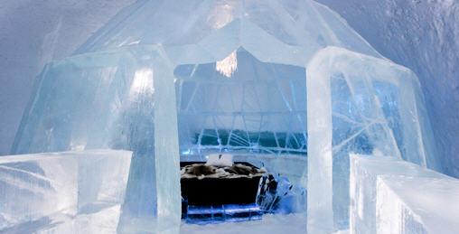 IceHotel - Lodowy apartament