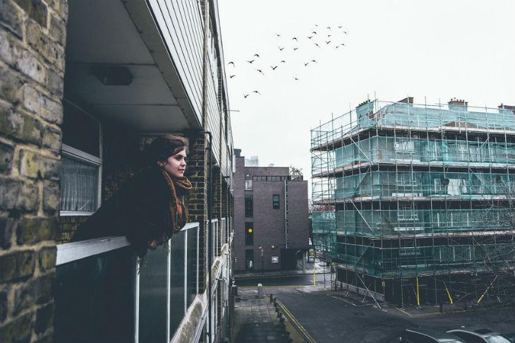 Zadanie zasłon balkonowych